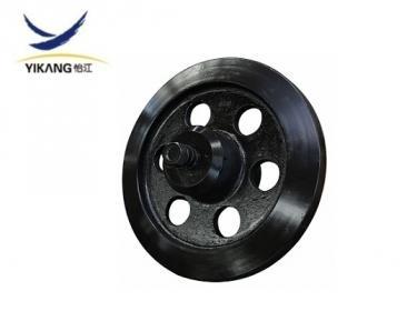 Morooka MST2200 idler roller for rubber track undercarriage dumper
