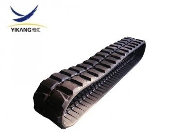 Rubber track 400x72.5 for engineeering machine