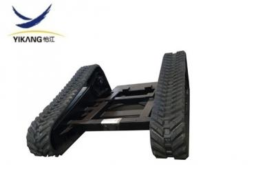 Skid steer loader undercarriage customize rubber track