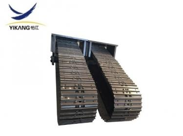 Tunnel crawler steel track undercarriage