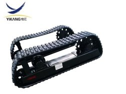 Skid steer loader  undercarriage with rubber track
