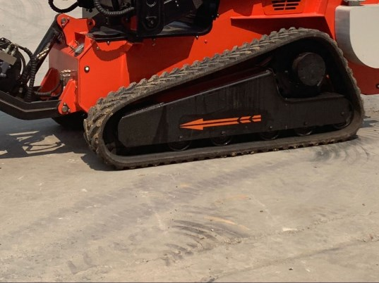 Fire fighting robot crawler tracked undercarriage
