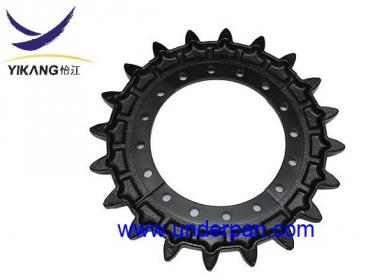 MST1500VD sprocket for Morooka track carrier
