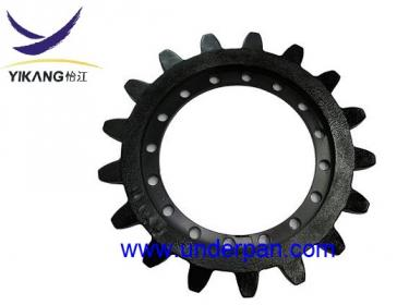 MST800 sprocket for Morooka track vehicle