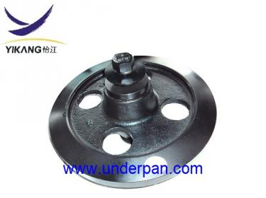 MST1500 idler roller for Morooka rubber truck undercarriage