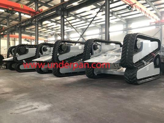 Custom rubber  undercarriage