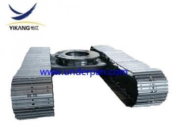 Heavy machine steel track undercarriage for excavator drill mine machinery
