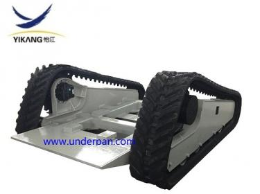 Fire fighting robot tracked system undercarriage