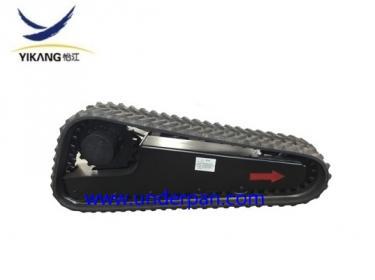 Skid steer loader rubber track undercarriage
