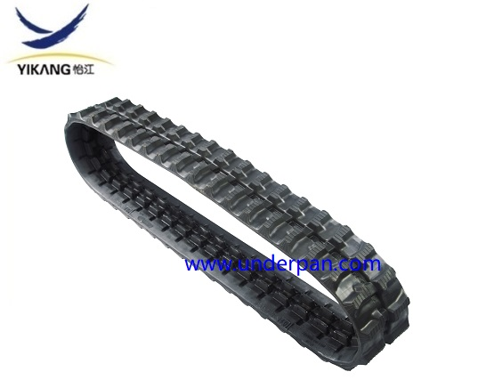 Small rubber track 180x72x37K for engineering machine