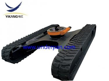 Factory customized excavator rubber track undercarriage